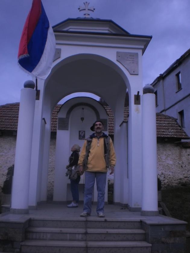 Слике са путовања по Србији: новембар 2014: детаљ из манастира Св. Прохор Пчињски,